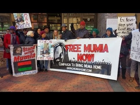 FREE MUMIA Press Conference at FOX Philly