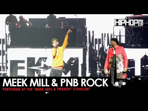 Thumbnail: Meek Mill Brings Out PnB Rock at His Meek Mill & Friends Concert