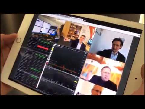 eyeson stock market group video call