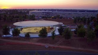 APPLE PARK: Late June 2017 -- A look in...