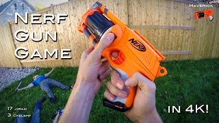 Nerf meets Call of Duty: Gun Game | First Person in 4K! thumbnail