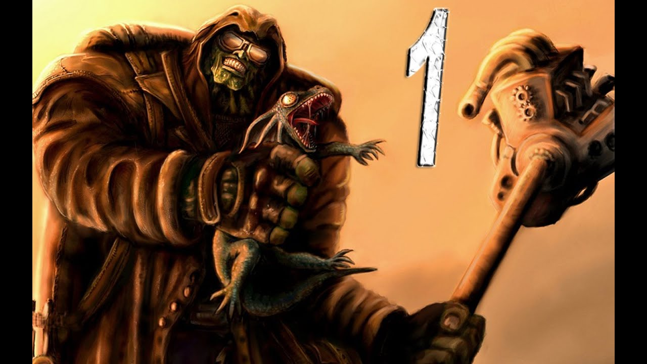Lets Play Fallout New Vegas As A Super Mutant Part 1 Youtube