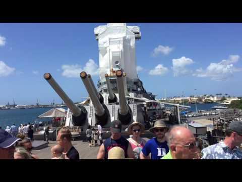 Pearl Harbor /Mighty Mo Missouri trip 2017 USS Arizona Memorial