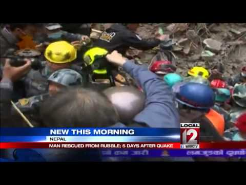 Teen pulled from Nepal rubble 5 days after quake