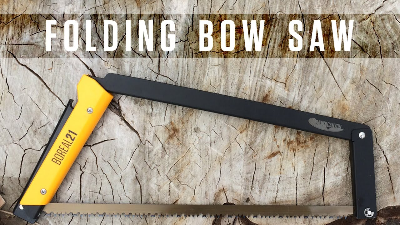 Folding bow saw boreal21 youtube greentooth Gallery