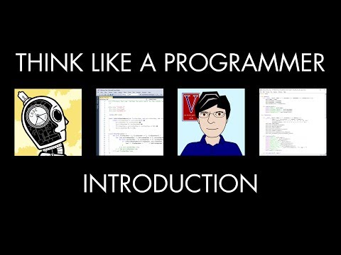 Think Like a Programmer: Introduction