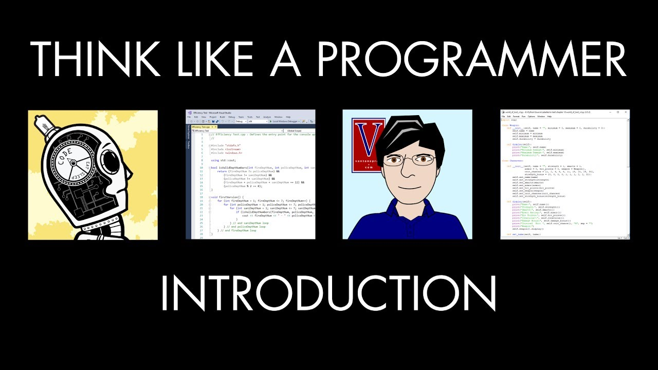 Think Like A Programmer  Introduction