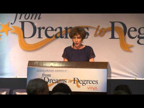 #DreamsToDegrees: Scholarship America President & CEO Lauren Segal