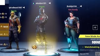 How to Be A Charecter from save the world On Fortnite Battle royale hilarious glitch