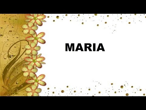 Maria Significado e Origem do Nome