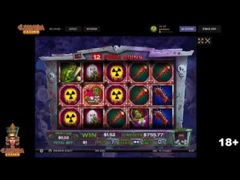Fast Free Spins Catched On Zombie Slot Mania Cleopatra Casino