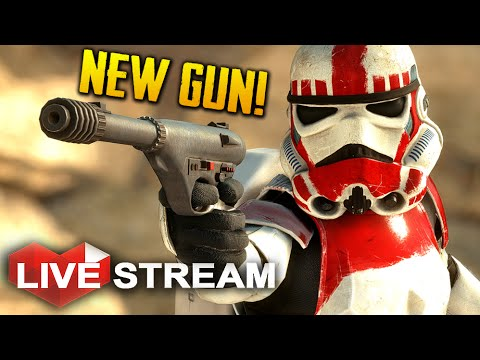 Star Wars Battlefront | Unlocking the New Stinger Pistol | Live Stream