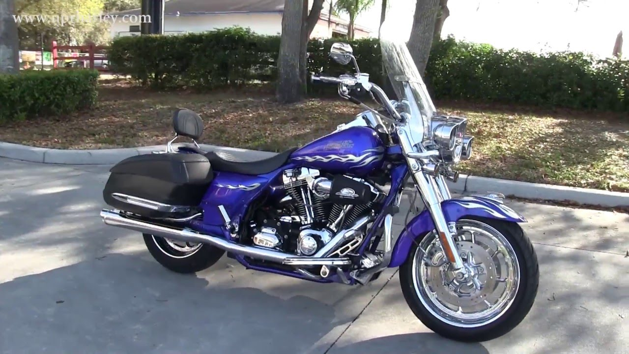 Used 2007 Harley Davidson FLHRSE CVO Road King for sale in Florida ...