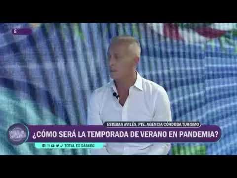 Esteban Avilés habló de cómo se prepara Cordoba para la temporada turística 2021