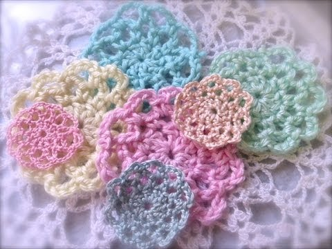 Cheap And Chic Easy Mini Crochet Doily Tutorial Youtube