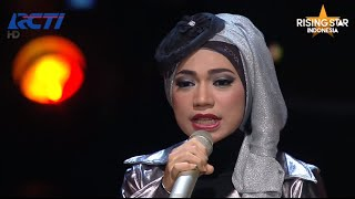 "Indah Nevertari ""Man Down"" Rihana - Rising Star Indonesia Best Of 5 Eps 23"