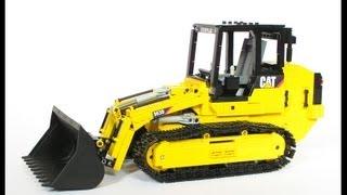 Lego Caterpillar 963D crawler loader