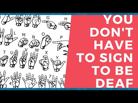 The Signing Deaf Community Is Not The Only Deaf Community | ASL