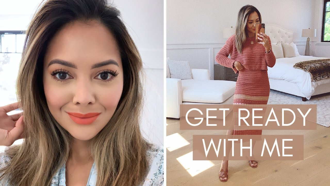 Get Ready With Me | Summer Makeup & Oufit