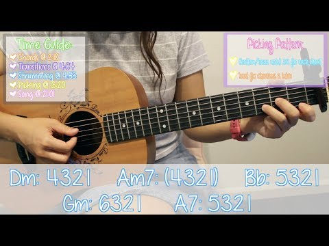 """God is a Woman"" - Ariana Grande EASY Guitar Tutorial [Chords/Strumming/Picking/Cover]"