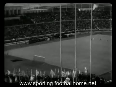 Atletismo :: Provas de Atletismo na inauguração do Estadio Nacional em 1944