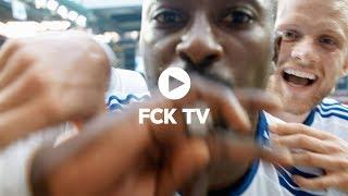 KYS TIL KAMERAET! Se Dame N'Doyes sejrsmål og smækkys til FCK TV
