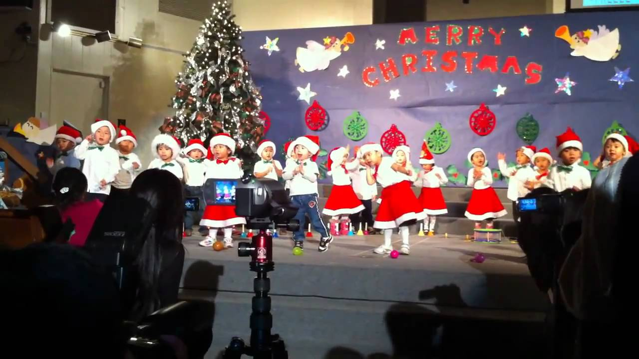 Rachael's Preschool Christmas Concert 2010 - YouTube