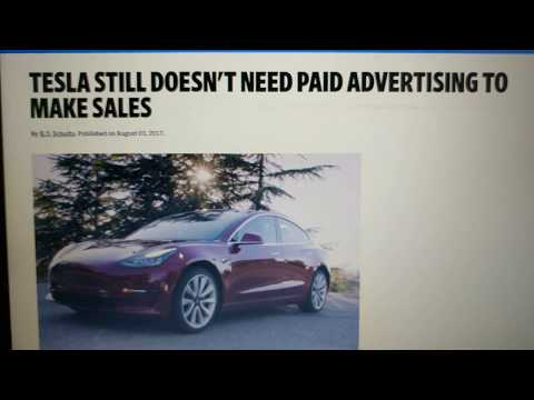 TESLA Has NEVER Paid For Advertising | Do You Believe It??