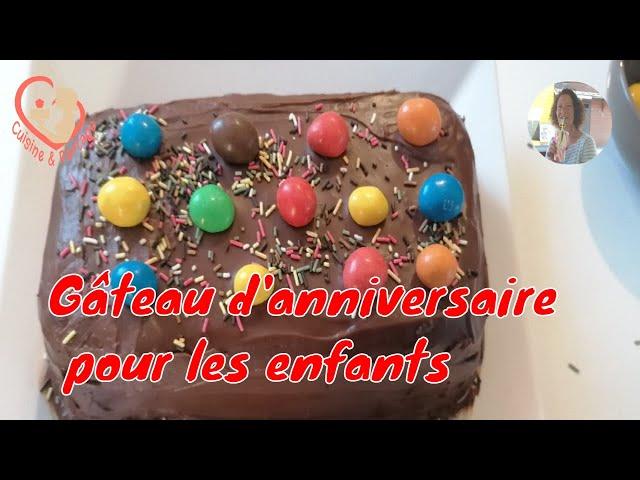 Gâteau Au Petit Lu Nappé De Ganache Pour Anniversaire Enfants. Allez, rendez-vous en cuisine.