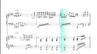 海の声(2台ピアノ)浦島太郎(桐谷健太) スコアメーカー(楽譜作成ソ...