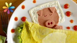 Готовим яичницу «Свинку», которая приведет в восторг малыша(, 2016-11-23T14:35:56.000Z)