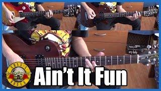 Guns N' Roses Ain't It Fun Full Cover | With Lyrics (sub Español)