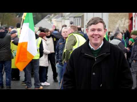 James Reynolds on the Strokestown eviction