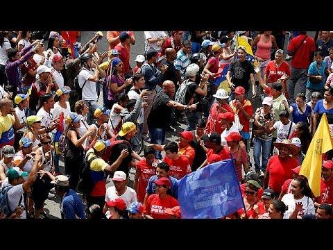 Venezuelan anti-government rallies turn violent, two dead