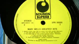Mary Wells   What`s Easy For Two  L P  Cut