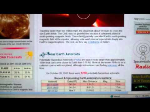 Comet Elenin Cloud of Fragments----Libya----OWS---Solar and Earthquake Update
