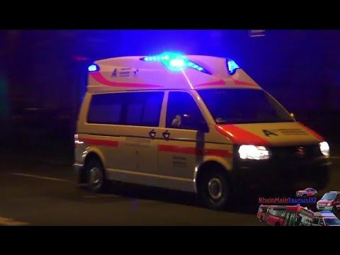 2x Krankentransportwagen 7/92-2 Rettungsdienst Erich-Traudes-GmbH Wiesbaden Rettungswache Mitte