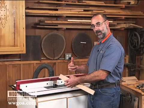 How To Use A One Piece Tongue And Groove Bit Youtube