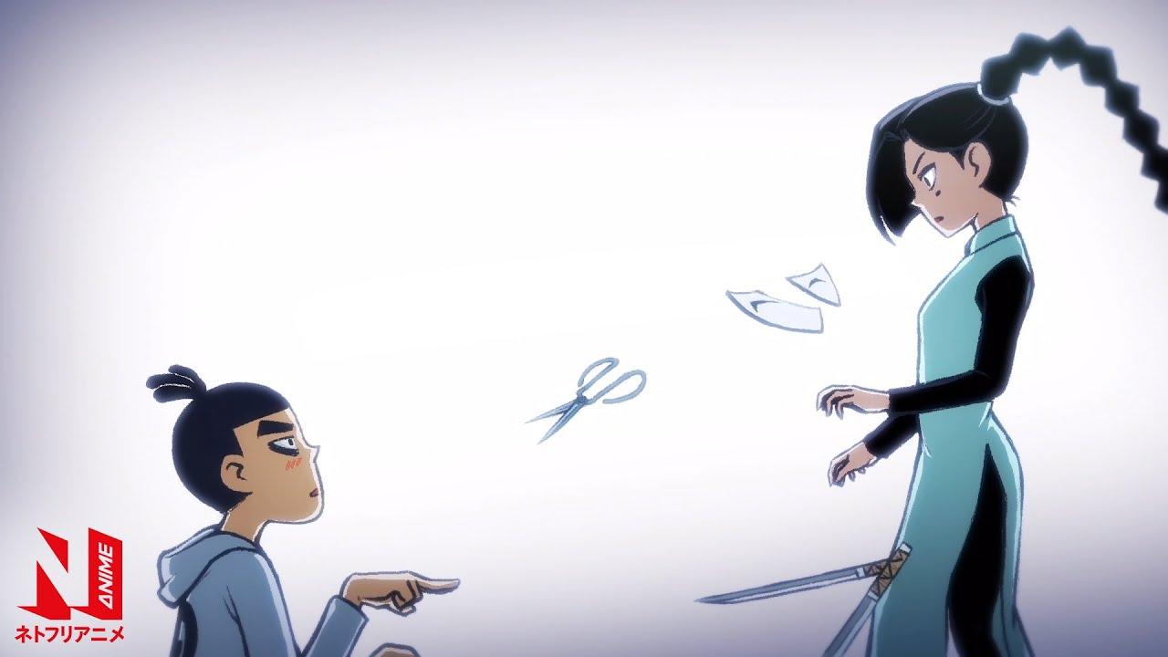 Scissor Seven | Multi-Audio Clip: Seven Hits on Thirteen | Netflix Anime