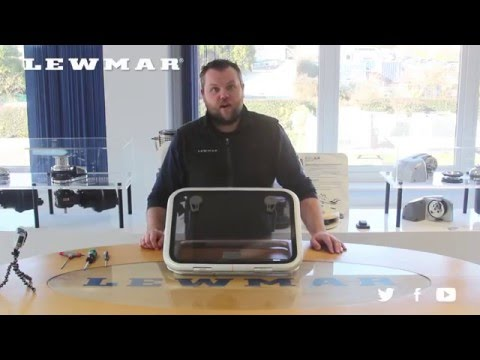 Lewmar Low/Medium Hatch -  Lid Replacement