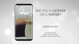 Wiggle - Interaction Design - App showcase