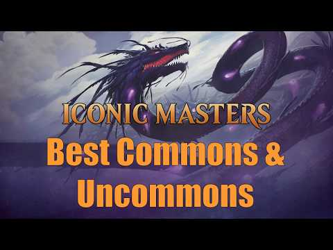 Drafting Iconic Masters:  The Best Commons & Uncommons