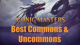 drafting iconic masters the best commons uncommons