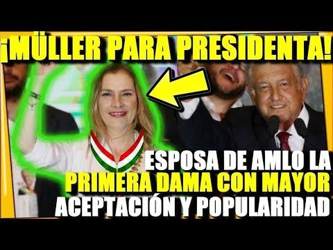 🔴¡ESPOSA DE AMLO LA PROXIMA PRESIDENTA DE MEXICO! MAS POPULAR QUE OBRADOR - ESTADISTICA POLITICA