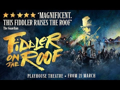 5* REVIEW Fiddler On The Roof Playhouse Theatre West End London 2019 - Cast Starring Andy Nyman