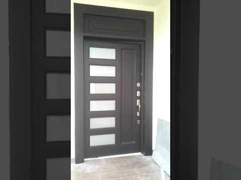 Puerta Metalica De Alta Seguridad Decorativa Youtube