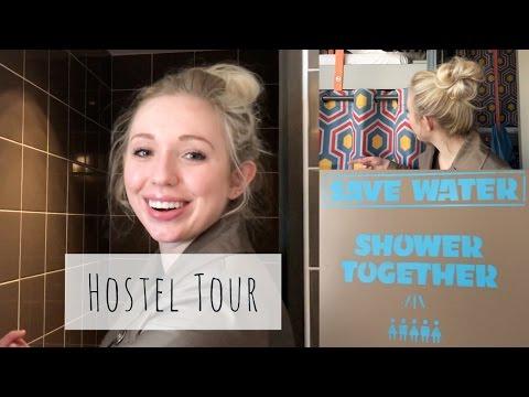 See Inside a Paris Hostel!