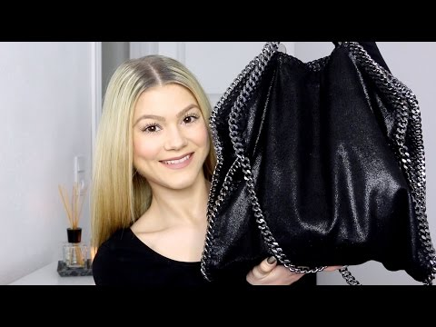 What's In My Bag? | Feat. Stella Mccartney Falabella Shaggy Deer Fold Over Tote
