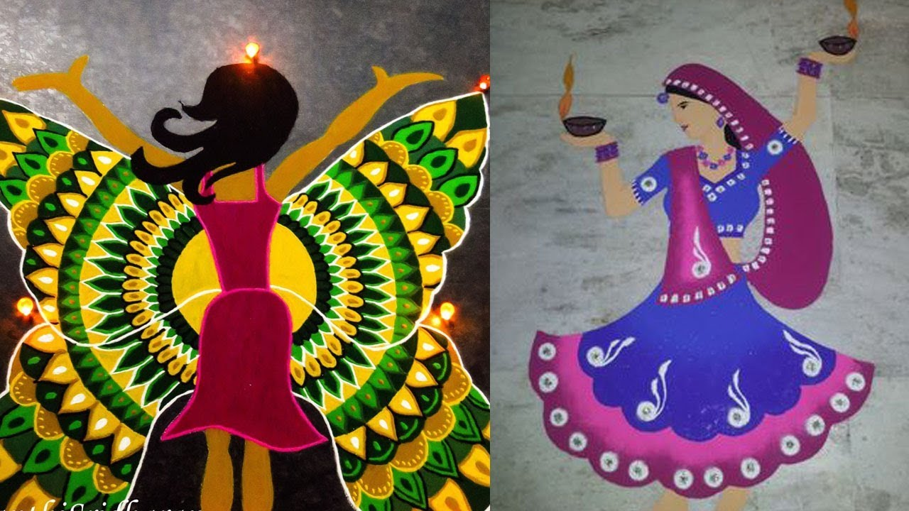 Happy Womens Day Celebrations Kolam Designs Youtube These designs are different from the regular rangoli. happy womens day celebrations kolam designs
