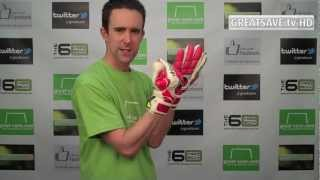 UHLSPORT FANGMASCHINE ABSOLUTGRIP SURROUND - GOALKEEPER GLOVES - PRODUCT PREVIEW